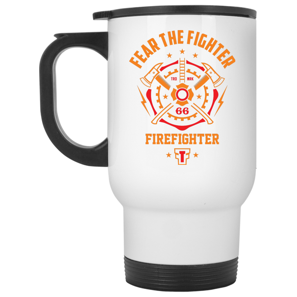 FTF Fire Fighter Travel Mug - Fear The Fighter