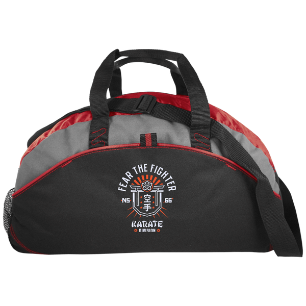 FTF Karate Medium Unstructured Overnight Bag - Fear The Fighter