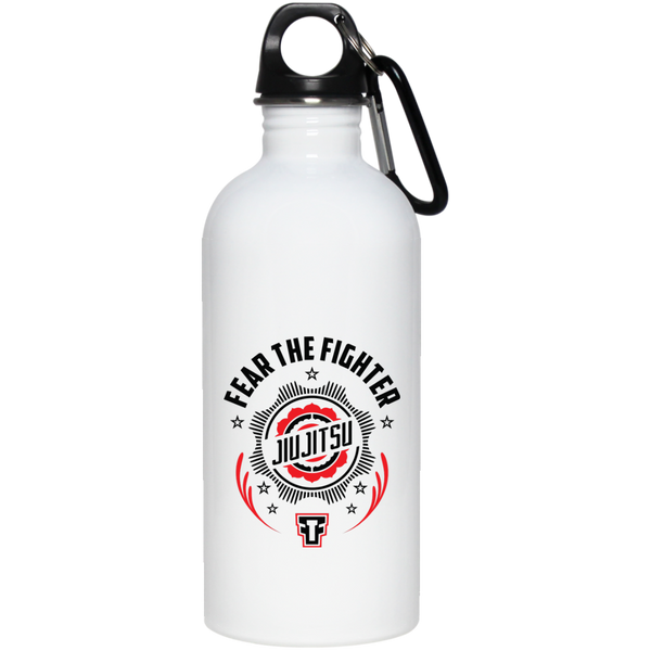 FTF Jiu Jitsu Stainless Steel Water Bottle 20 oz - Fear The Fighter