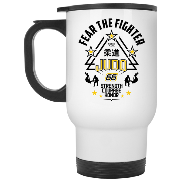 FTF Judo Travel Mug - Fear The Fighter
