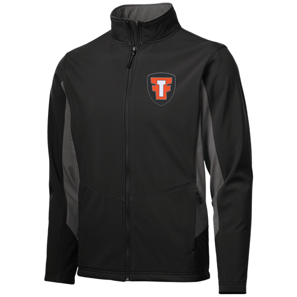 FTF Logo Colorblock Soft Shell Jacket - Fear The Fighter