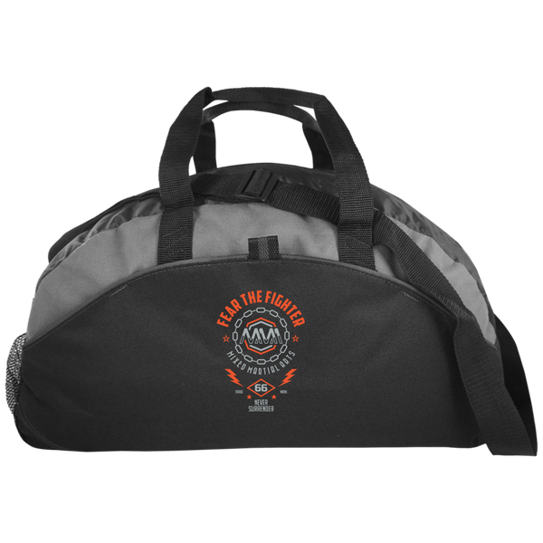 FTF MMA Medium Unstructured Overnight Bag - Fear The Fighter