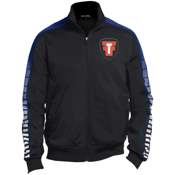 FTF Logo Dot Print Warm Up Jacket - Fear The Fighter