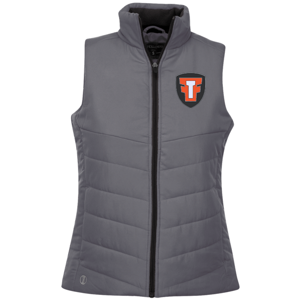 FTF Logo Ladies Quilted Vest - Fear The Fighter
