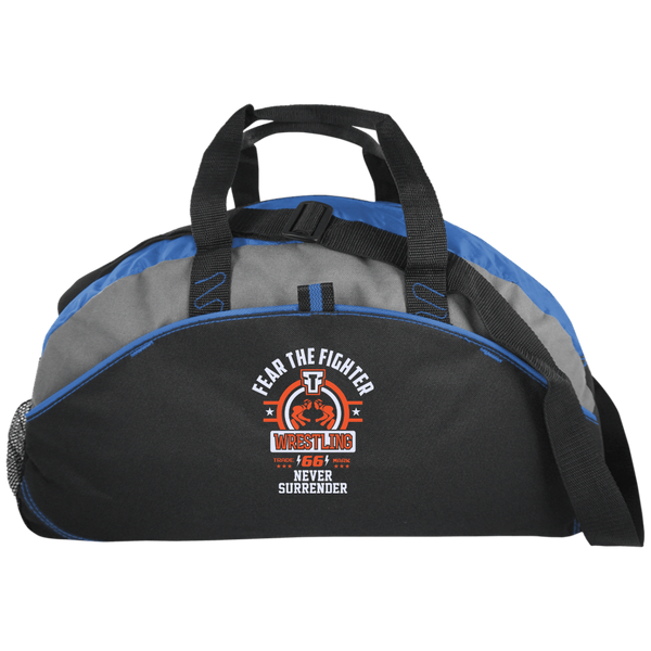 FTF Wrestling Medium Unstructured Overnight Bag - Fear The Fighter