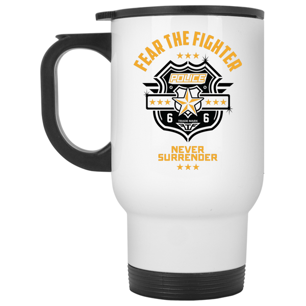 FTF Police Travel Mug - Fear The Fighter