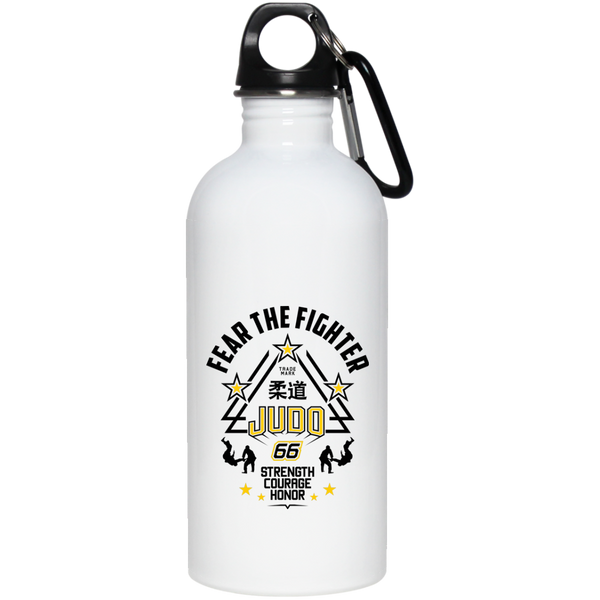 FTF Judo Stainless Steel Water Bottle 20 oz - Fear The Fighter