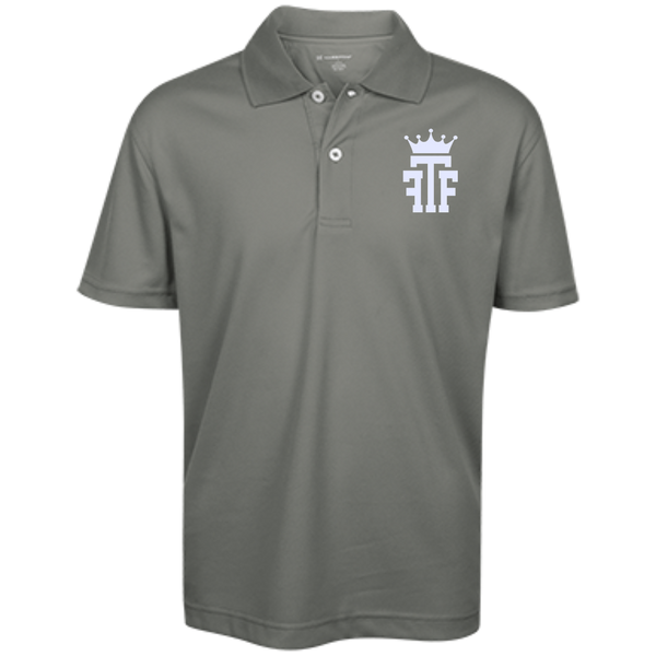 FTF Logo Youth Performance Polo