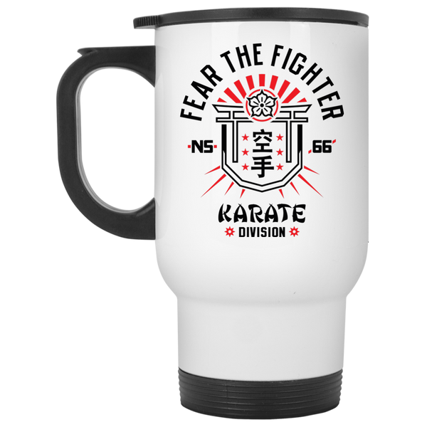 FTF Karate Travel Mug - Fear The Fighter