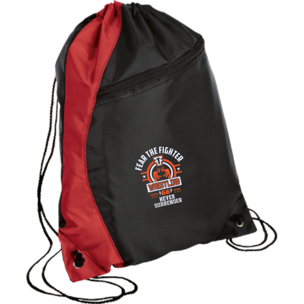 FTF Wrestling Colorblock Cinch Pack - Fear The Fighter