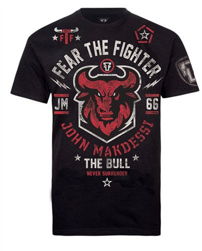 John The Bull Makdessi signature - Fear The Fighter