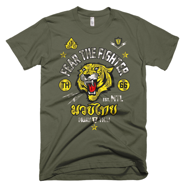 FTF MUAY THAI Tshirt - Fear The Fighter