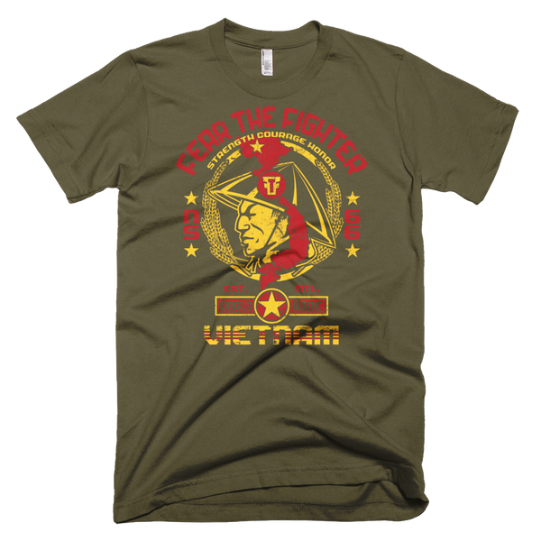 FTF WBL Vietnam Tshirt - Fear The Fighter