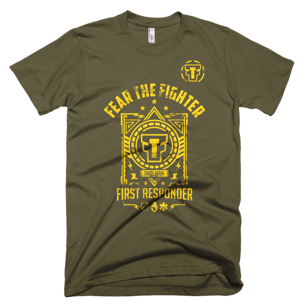 FTF First Responder Tshirt - Fear The Fighter
