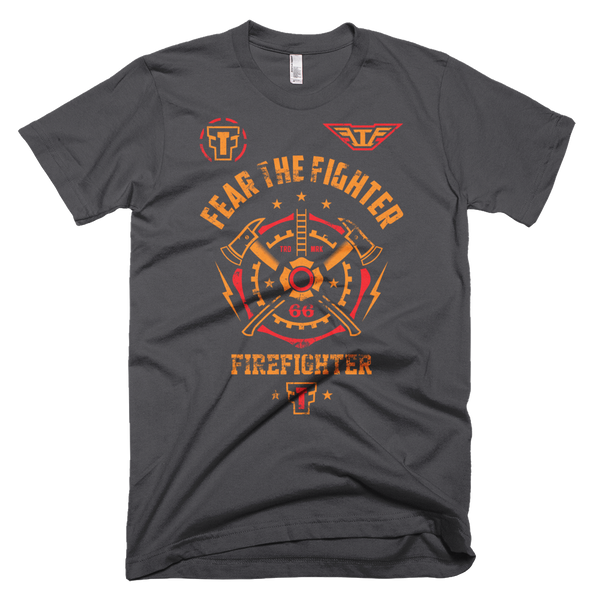 FTF Fire Fighter  Tshirt - Fear The Fighter