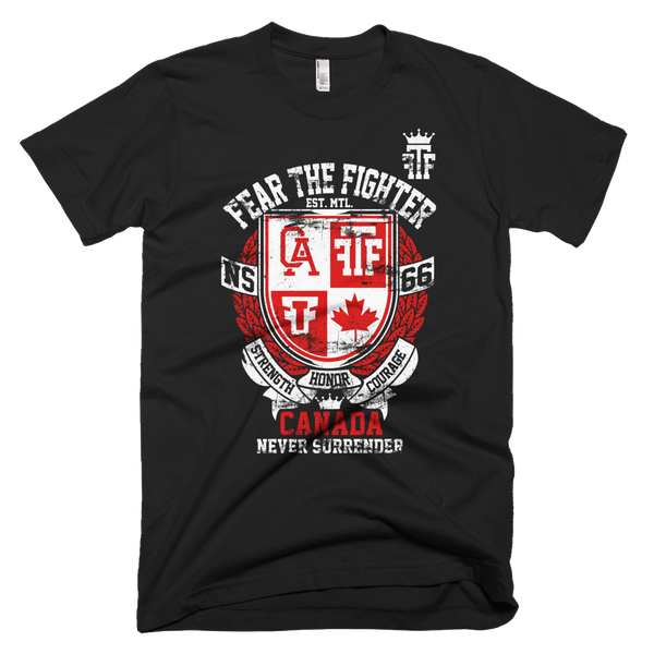FTF WBL Canada Tshirt - Fear The Fighter