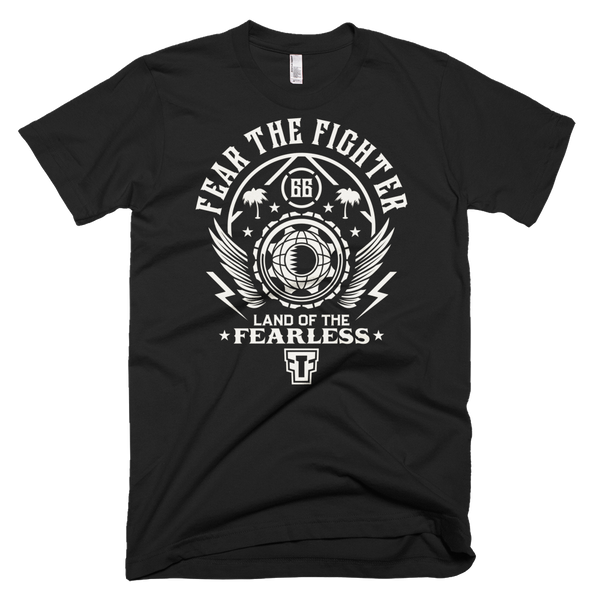 FTF WBL Qatar Tshirt - Fear The Fighter