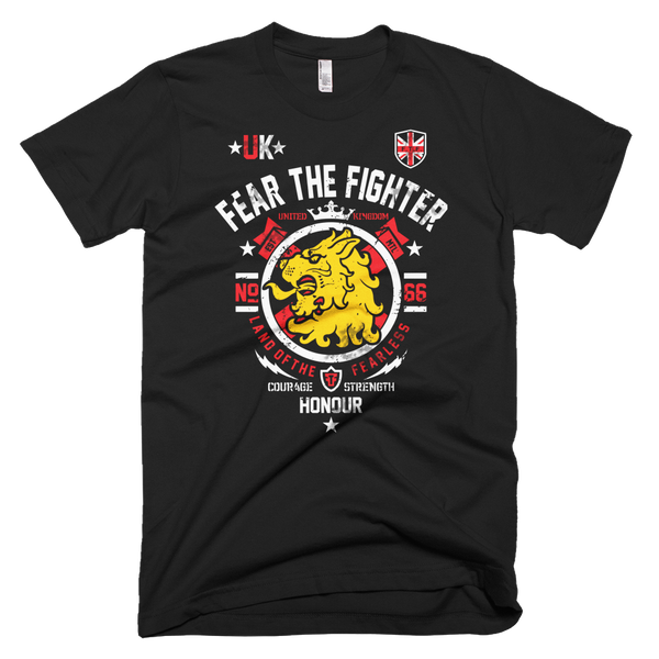 FTF WBL United Kingdom Tshirt - Fear The Fighter