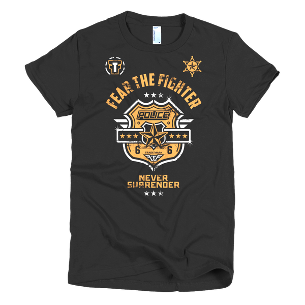 FTF Police Women - Fear The Fighter