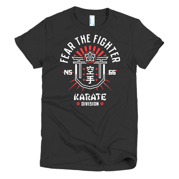 FTF Karate Women - Fear The Fighter