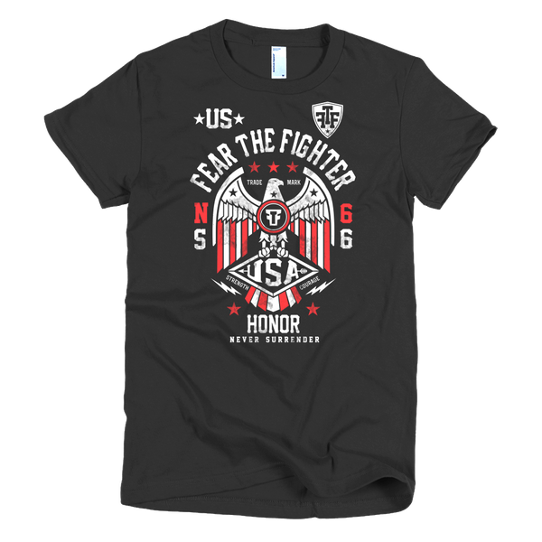 FTF WBL USA Women - Fear The Fighter
