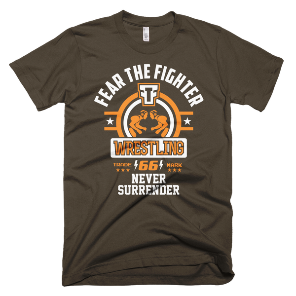 FTF Wrestling T-shirt - Fear The Fighter