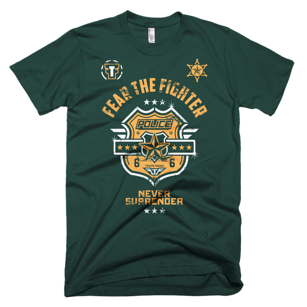 FTF Police Tshirt - Fear The Fighter