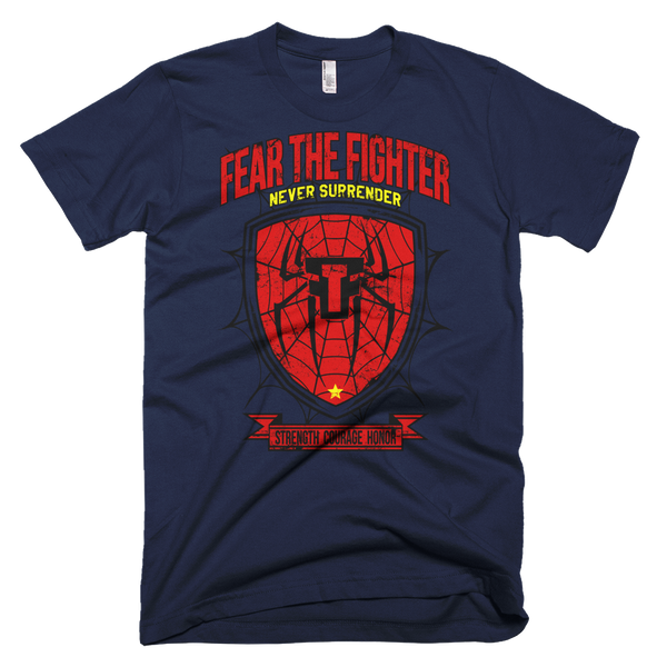 FTF Spider Tshirt - Fear The Fighter