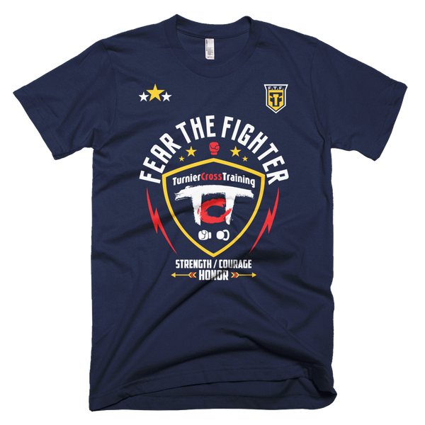 FTF Turnier Cross Training Tshirt - Fear The Fighter