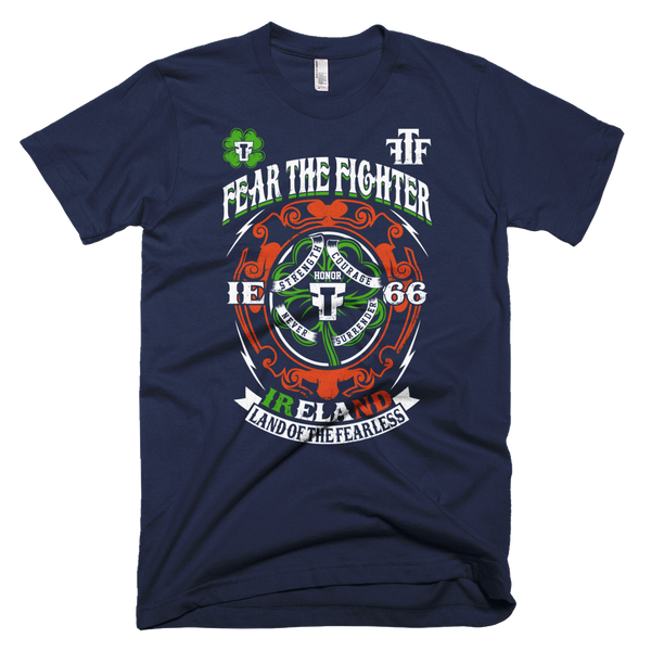 FTF WBL Ireland Tshirt - Fear The Fighter