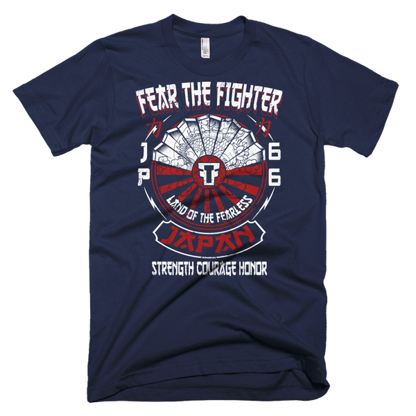 FTF WBL Japan Tshirt - Fear The Fighter