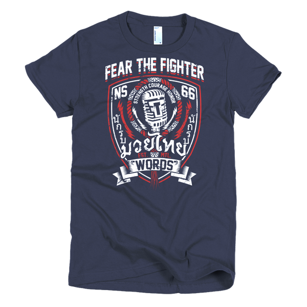 FTF Words Women - Fear The Fighter