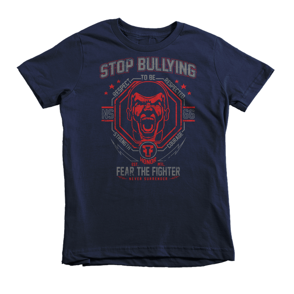 FTF Stop Bully Face Youth - Fear The Fighter