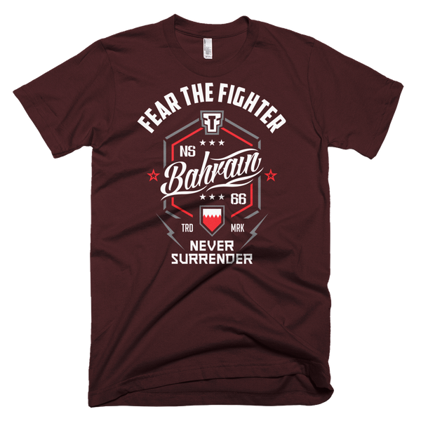 FTF WBL Bahrain Tshirt - Fear The Fighter