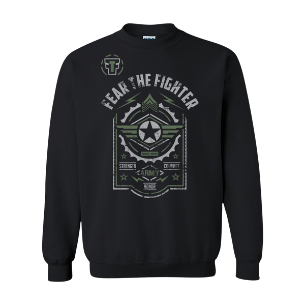 FTF Army Sweatshirt - Fear The Fighter
