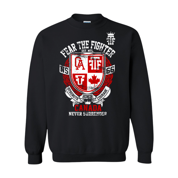 FTF WBL Canada Sweatshirt - Fear The Fighter