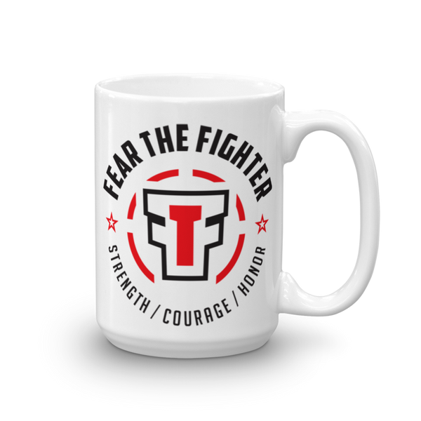 FEAR THE FIGHTER MUG - Fear The Fighter