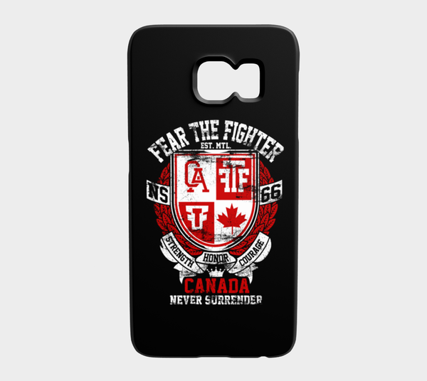 FTF Blood Line Canada Galaxy S6 - Fear The Fighter