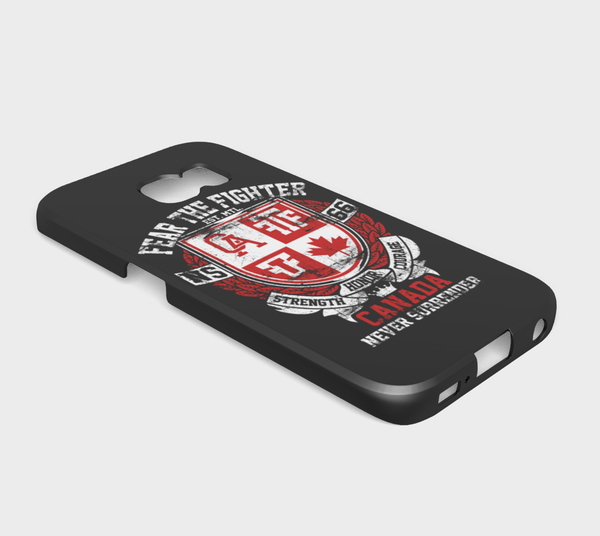 FTF Blood Line Canada Galaxy S6 Edge - Fear The Fighter