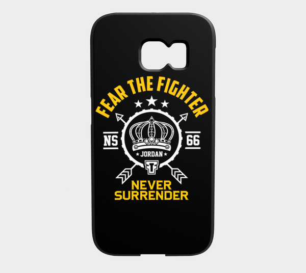 FTF Blood Line Jordan Galaxy S6 Edge - Fear The Fighter