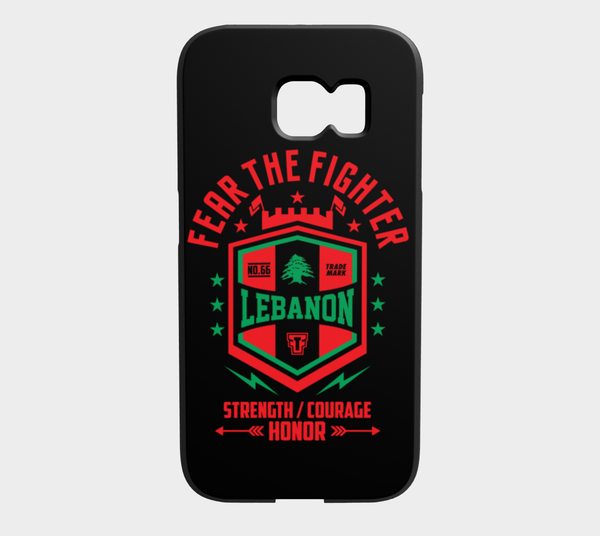 FTF Blood Line Lebanon Galaxy S6 Edge - Fear The Fighter