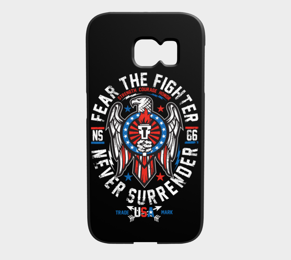 FTF Blood Line USA Galaxy S6 Edge - Fear The Fighter