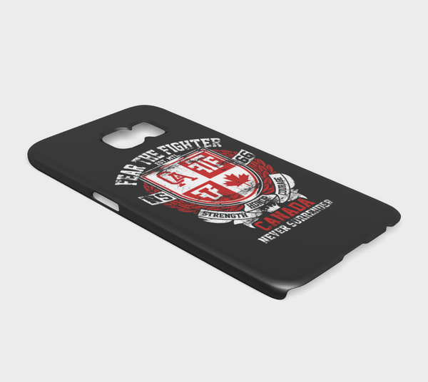 FTF Blood Line Canada Galaxy S7 - Fear The Fighter