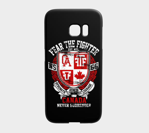 FTF Blood Line Canada Galaxy S7 Edge - Fear The Fighter