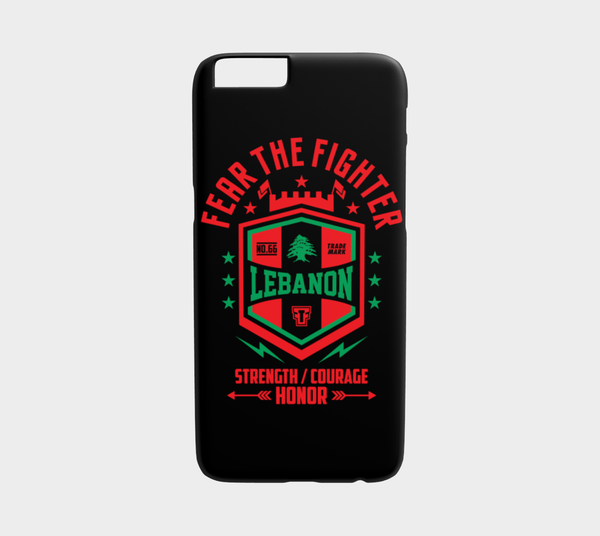 FTF Blood Line Lebanon Iphone 6/6S - Fear The Fighter