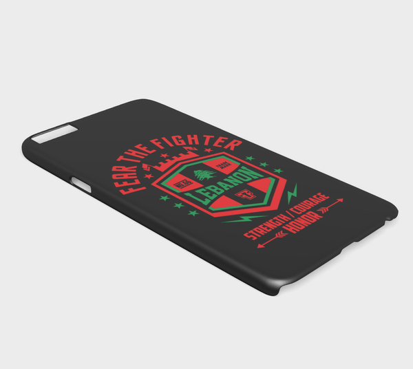 FTF Blood Line Lebanon Iphone 6/6S plus - Fear The Fighter