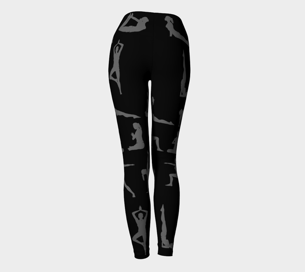 FTF Yoga Legging Black - Fear The Fighter