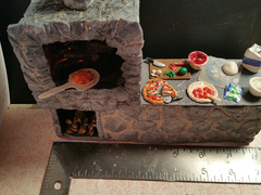Dollhouse Pizza Oven