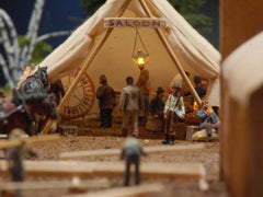 HO-Scale Deadwood Diorama