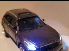 Model car sync flash